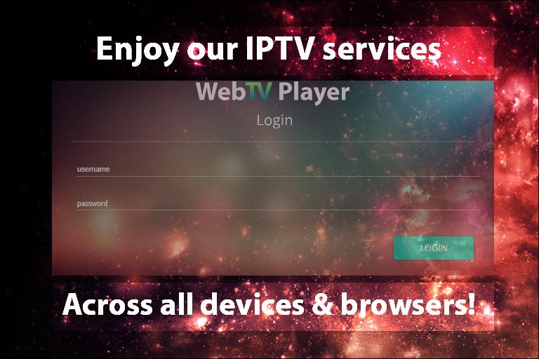 Web TV Player
