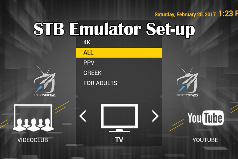 How To Install STB EMULATOR - IPTV Subscription - World's ...